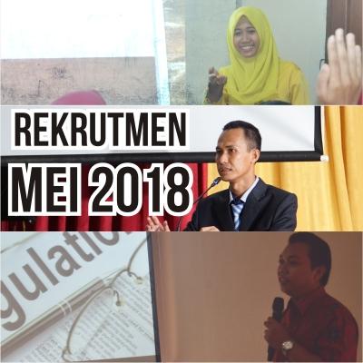 Rekrutmen Mei 2018