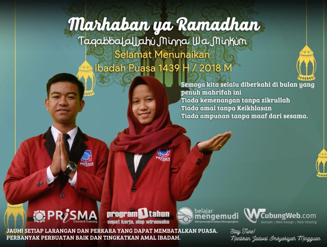 Marhaban Ya Ramadhan. Taqaballahu Minna wa Minkum