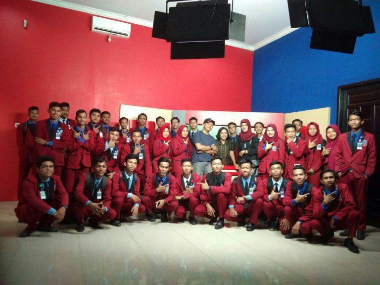 Kunjungan Studi Ke SBTV Pangkalan Bun