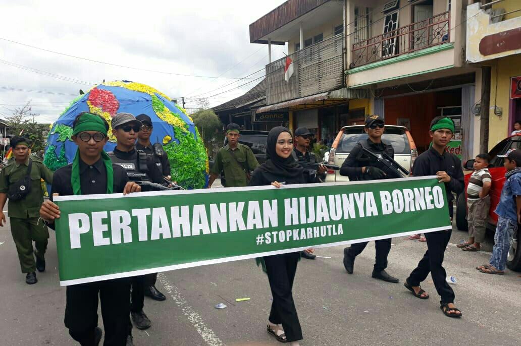 Pertahankan Hijaunya Borneo – Festival Budaya Pawai Nasi Adab 2019