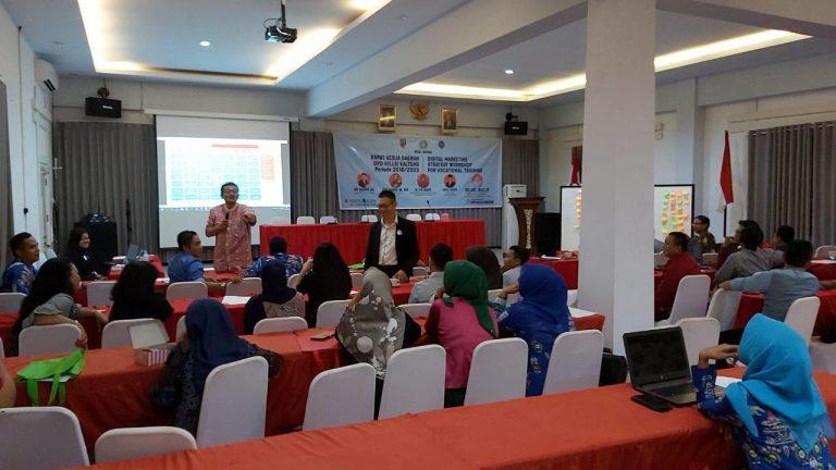 Anggota HILLSI Kalimantan Tengah Ikuti Pelatihan Digital Marketing