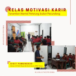 kelas motivasi karir5 - LPK Prisma Pangkalan Bun