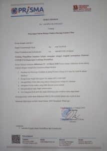 surat edaran covid 3 - LPK Prisma Pangkalan Bun