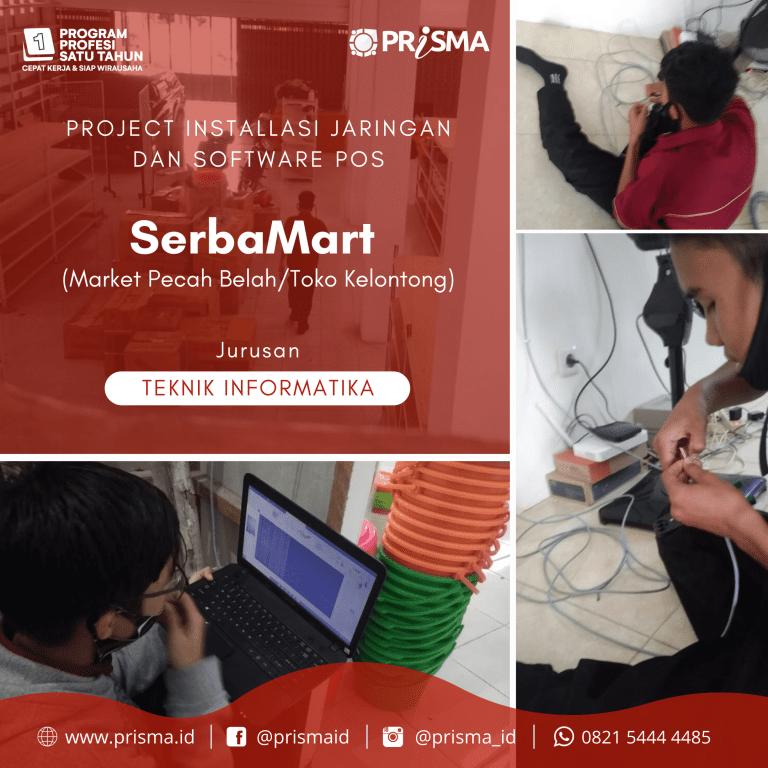 Project Installasi Jaringan dan Software POS di Serba Mart